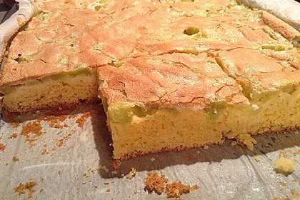 Rhabarber - Blechkuchen 5