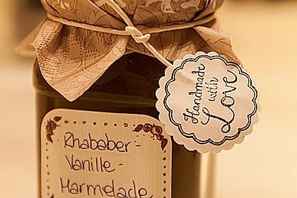 Rhabarber - Vanille - Marmelade