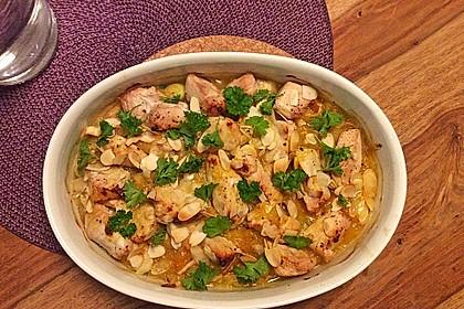 Curry - Hähnchen mit Aprikosen 5