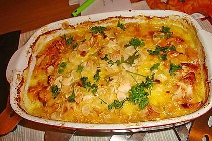 Curry - Hähnchen mit Aprikosen 4