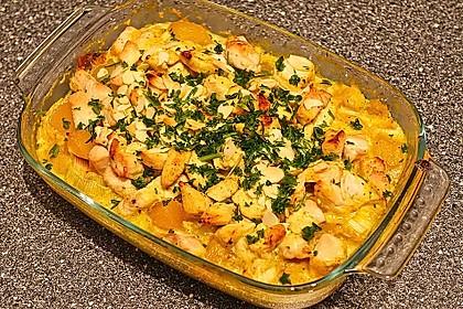 Curry - Hähnchen mit Aprikosen 2