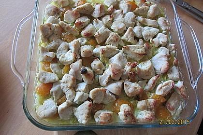 Curry - Hähnchen mit Aprikosen 12