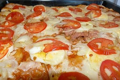 Der beste Pizzateig 80