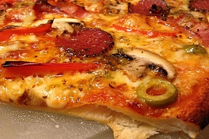 Der beste Pizzateig 60