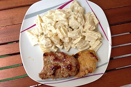 Kohlrabi mit Frischkäse 10