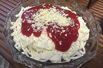 Spaghetti-Eis Dessert 4