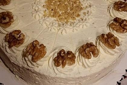 Walnusskrokant - Torte