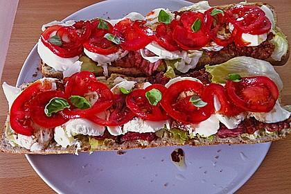 Caprese Bacon Ciabatta Sandwich 15