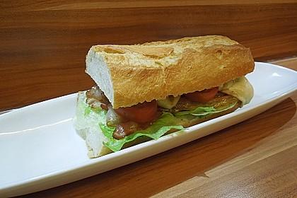 Caprese Bacon Ciabatta Sandwich 16