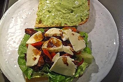 Caprese Bacon Ciabatta Sandwich 9