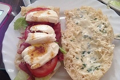 Caprese Bacon Ciabatta Sandwich 24