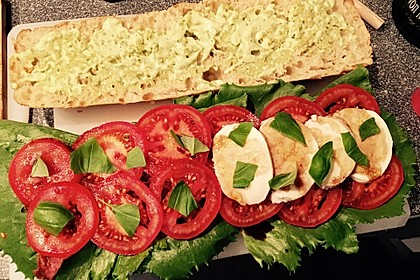 Caprese Bacon Ciabatta Sandwich 13
