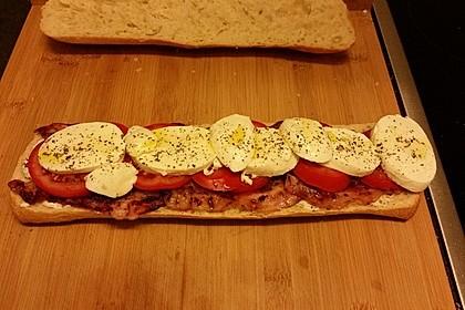 Caprese Bacon Ciabatta Sandwich 19