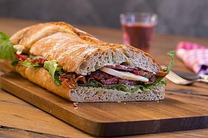 Caprese Bacon Ciabatta Sandwich 2