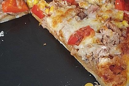 Pizzateig mit Dinkelmehl 5