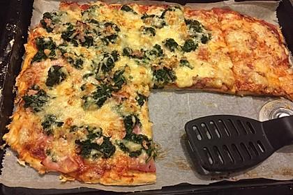 Pizzateig mit Dinkelmehl 4