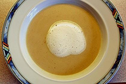 Cappuccino von der Maroni mit Trüffelschaum 6