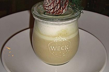 Cappuccino von der Maroni mit Trüffelschaum 3