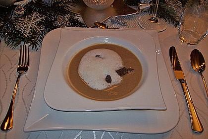 Cappuccino von der Maroni mit Trüffelschaum 2