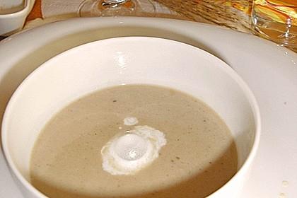 Cappuccino von der Maroni mit Trüffelschaum 8