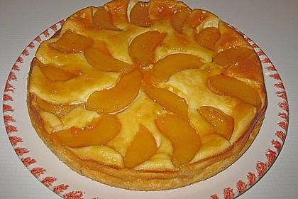 Quarkkuchen mit Pfirsich 10
