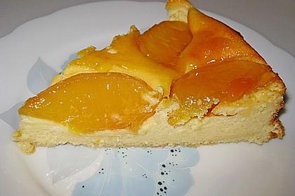 Quarkkuchen mit Pfirsich 16