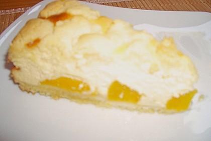 Quarkkuchen mit Pfirsich 20
