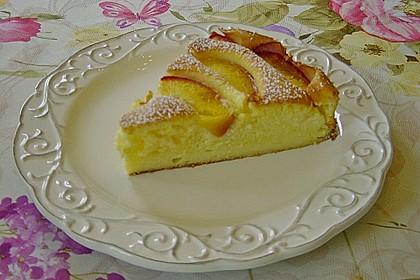 Quarkkuchen mit Pfirsich 4
