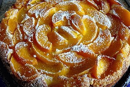 Quarkkuchen mit Pfirsich 6