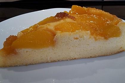 Quarkkuchen mit Pfirsich 7
