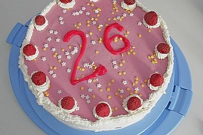 Erdbeer - Quark - Torte 2