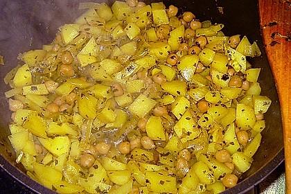 Kartoffel - Hackfleisch - Curry 1