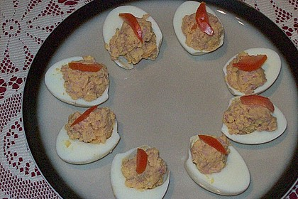 Gefüllte Eier 1