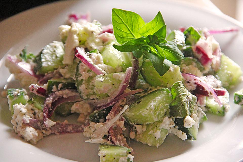Salat rezepte feta