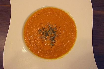Karotten - Orangen - Suppe