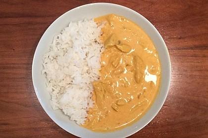 Curry Geschnetzeltes 6