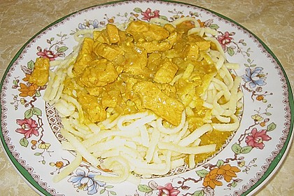 Curry Geschnetzeltes 9