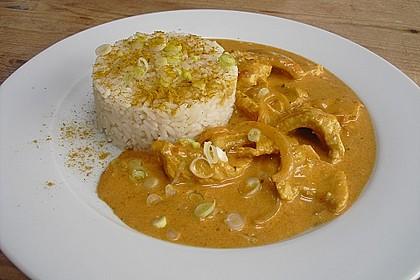 Curry Geschnetzeltes 4