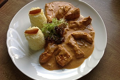 Curry Geschnetzeltes 2