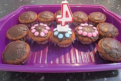 Schokoladen - Muffins 5