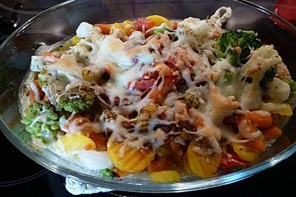 Quinoa - Gemüse - Auflauf 5