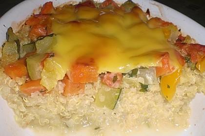 Quinoa - Gemüse - Auflauf 13