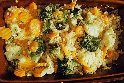 Quinoa - Gemüse - Auflauf 9