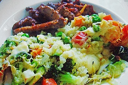 Quinoa - Gemüse - Auflauf 10