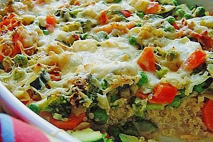 Quinoa - Gemüse - Auflauf 2