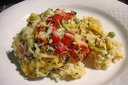 Quinoa - Gemüse - Auflauf 6
