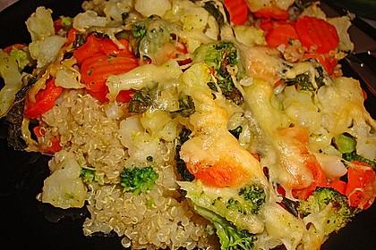 Quinoa - Gemüse - Auflauf 3