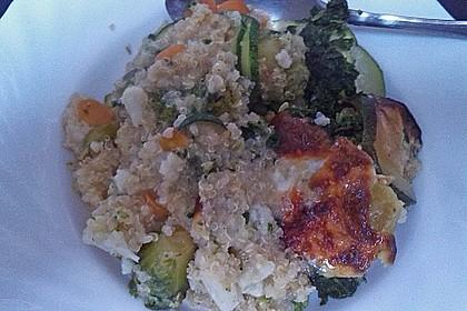 Quinoa - Gemüse - Auflauf 35