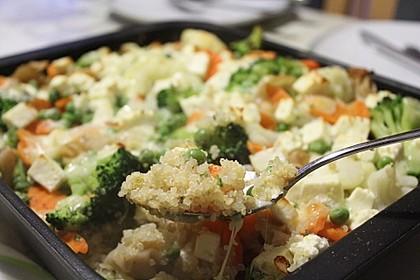Quinoa - Gemüse - Auflauf 1
