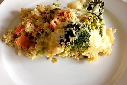 Quinoa - Gemüse - Auflauf 27